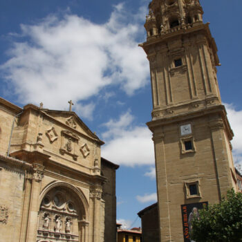 Cathedral of Santo Domingo de la Calzada and free tower
